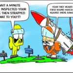 A toon for NHRA team F@ST Andie Rawlings