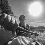 Cave Run Lake 9-24-2019 kayaking with JT