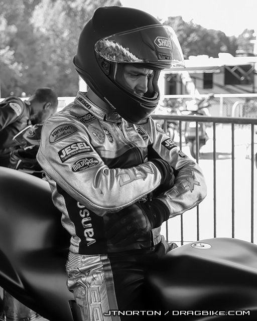 Joey Gladstone by JT Norton / Dragbike.com