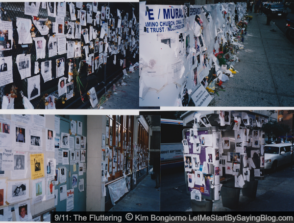 The Fluttering is a 9/11 story from that day in NYC by Kim Bongiorno