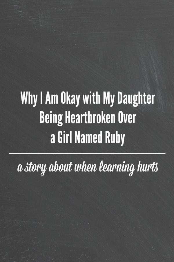 Why I Am Okay with My Daughter Being Heartbroken Over a Girl Named Ruby by @letmestart | When learning about the past hurts now #BlackHistoryMonth and the racism that Ruby Bridges faced