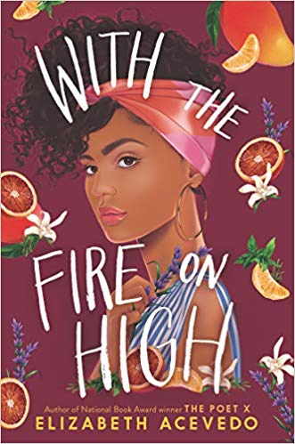 The Best Books I Read in 2019 by @letmestart including books for kids, teens, and adults featuring WITH THE FIRE ON HIGH