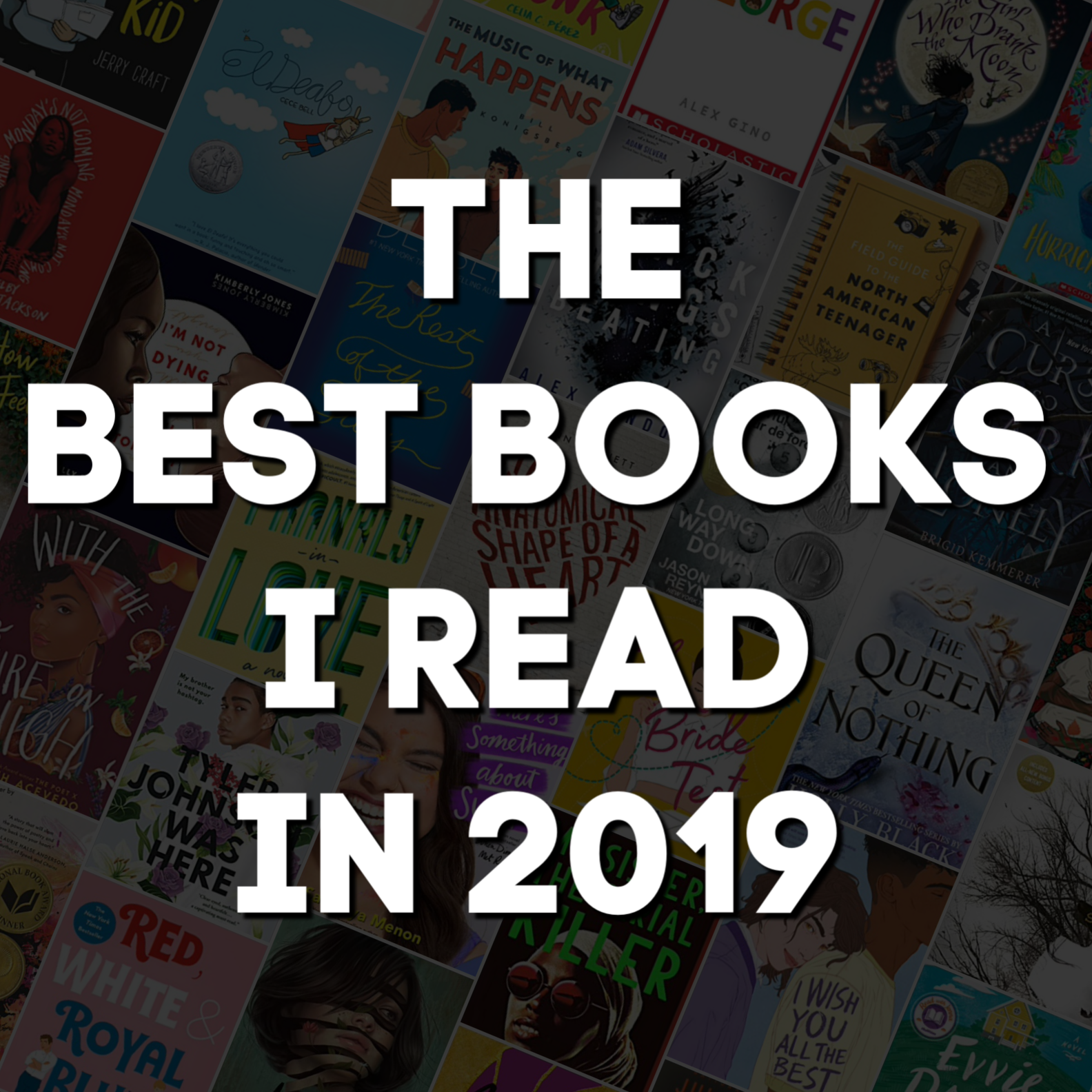The Best Books I Read in 2019 by @letmestart including books for kids, teens, and adults