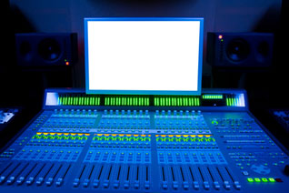 A Trance Music Studio