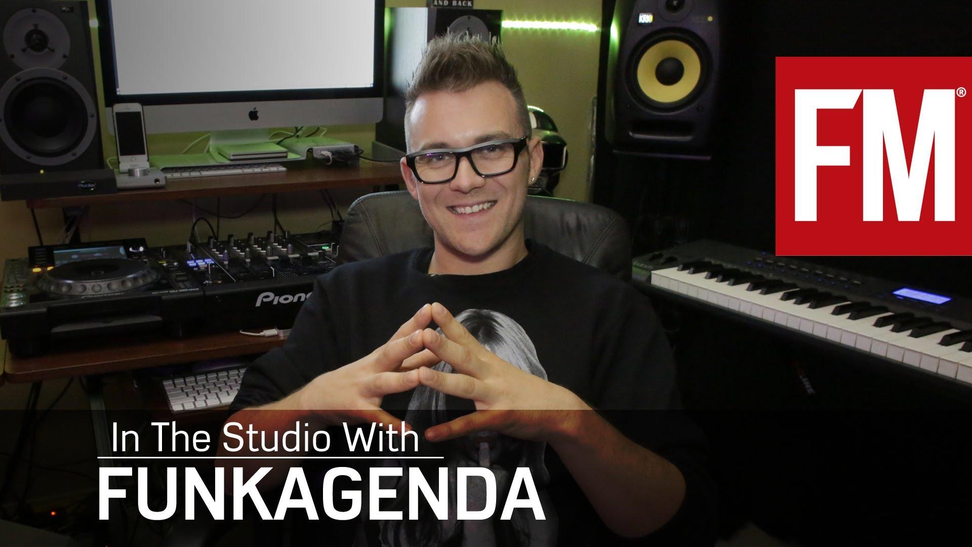 Funkagenda And Future Music Tutorial On NI Massive