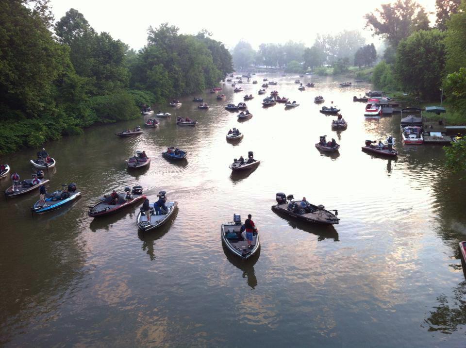 Fishing Boats WV Bass Federation