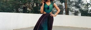 Krystle Dsouza was spotted wearing an outfit by Label Shazzle