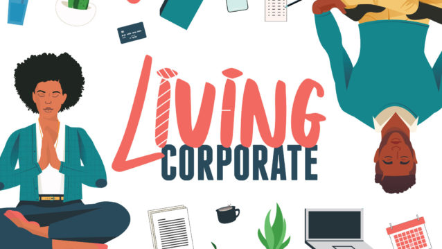 The Living Corporate banner image.