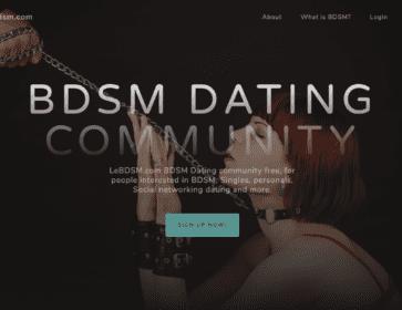 bdsm dating