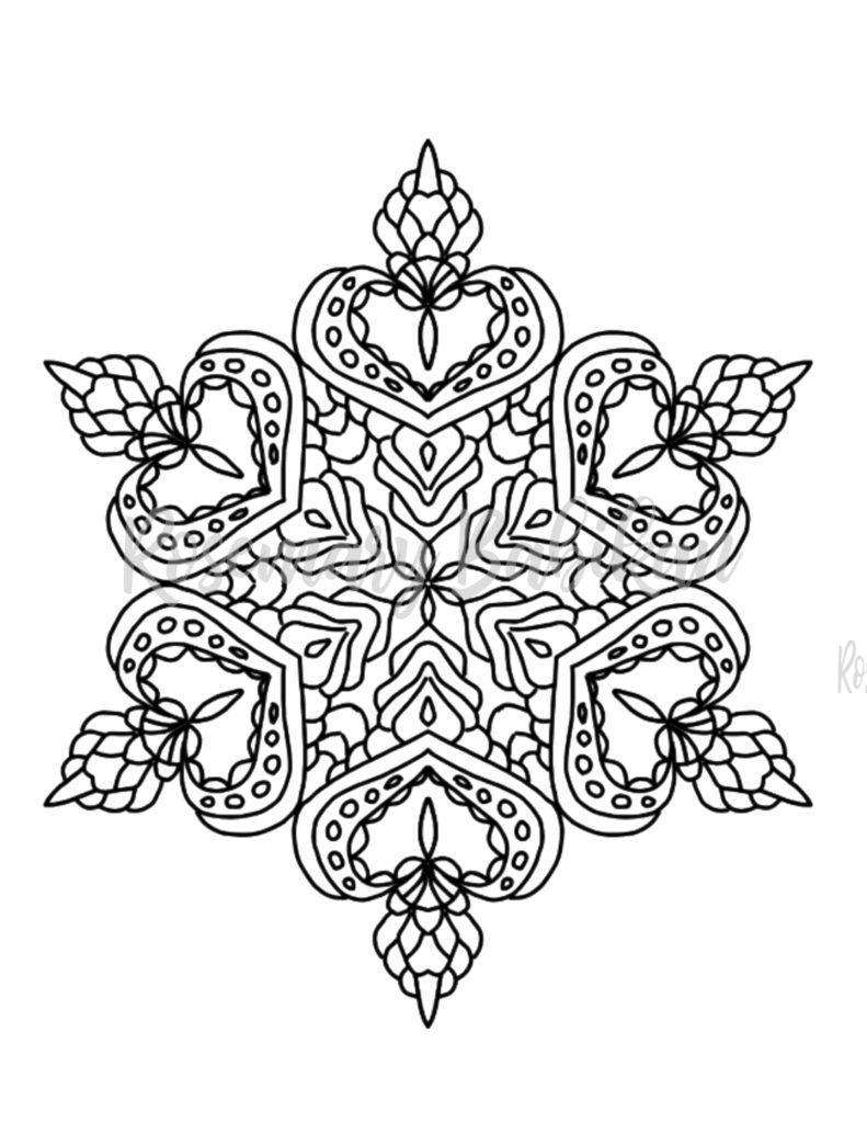 Adult Coloring Mandala #21