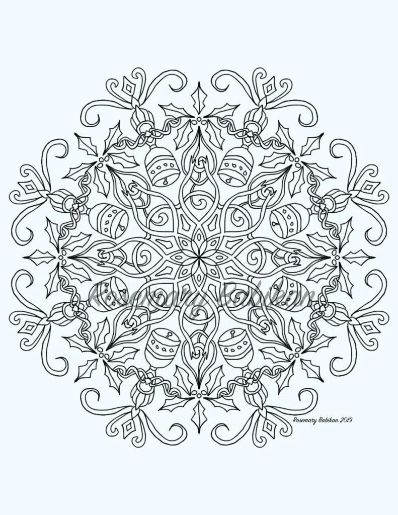 Holiday Mandala