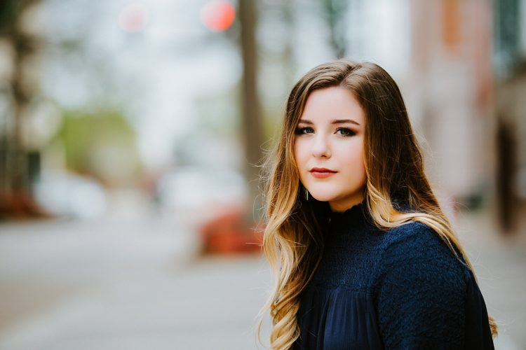 Downtown Lafayette Senior Session