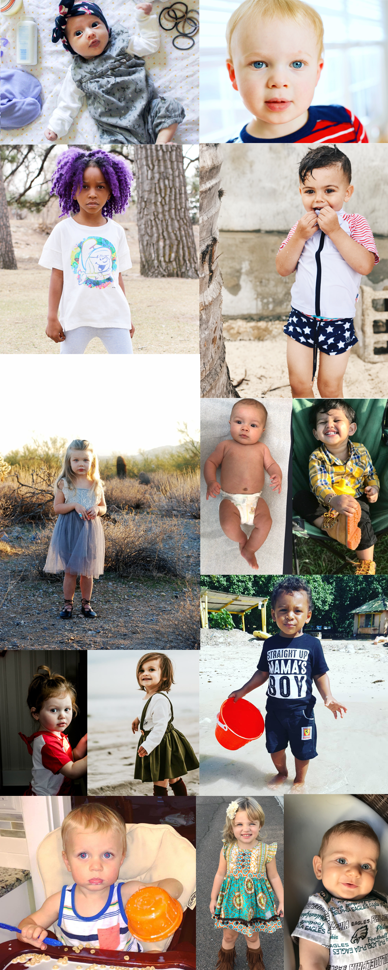 kid-models-take-photos-at-home