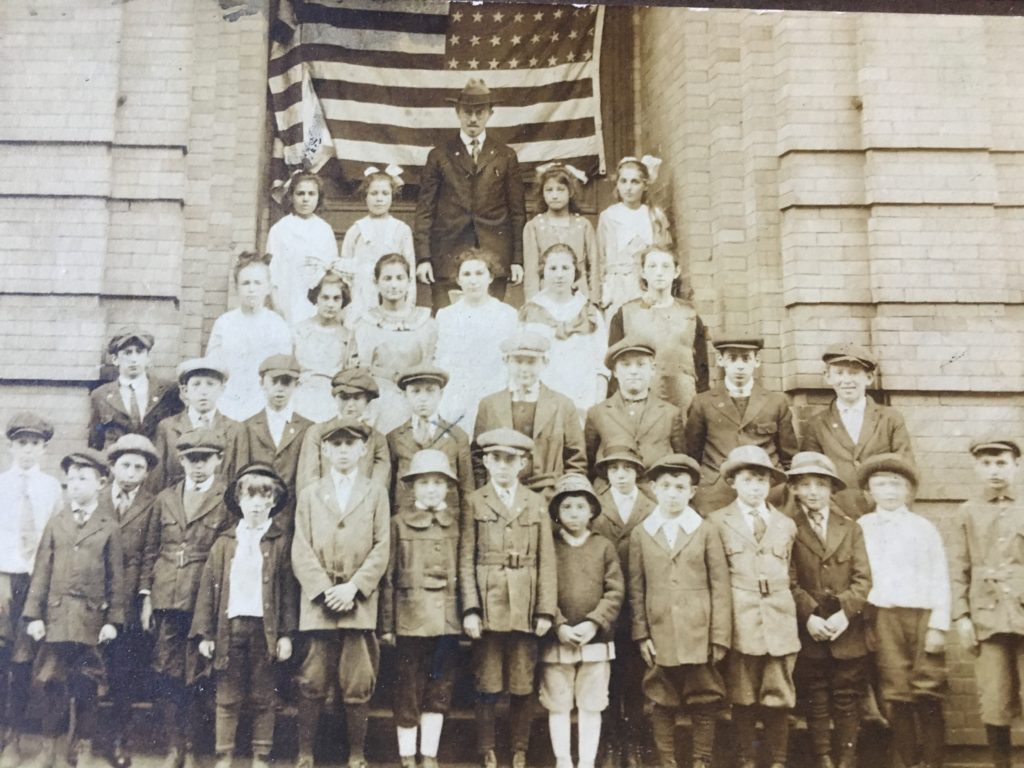 Schoolchildren of Rodphe Shalom, in Holyoke