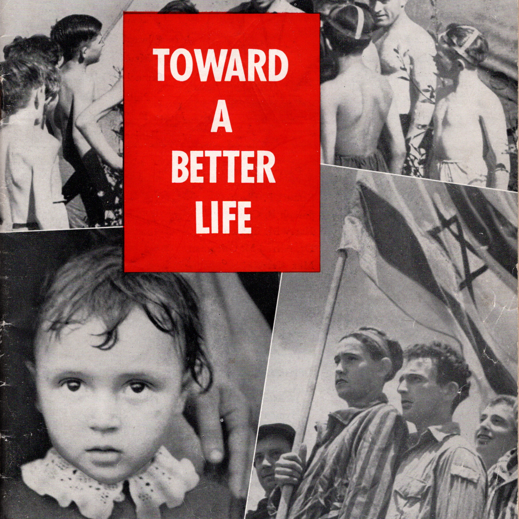 Jewish Welfare Fund Honor Roll Cover - Toward a Better Life