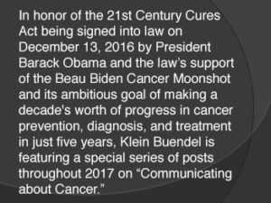 Communicating About Cancer Series Info