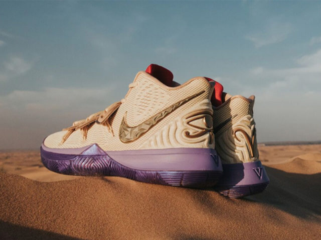 Nike and Concepts come up with a special edition Kyrie 5 for Christmas