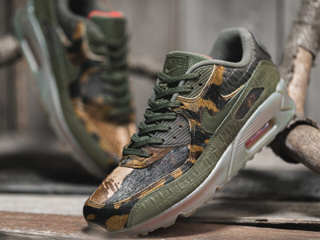 OUT NOW: Nike Air Max 90 'Camo Croc'