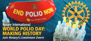 World Polio Day October 24, 2013 Live Stream Event.