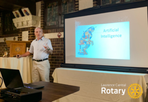 Dave Mannering   Lawrence Central Rotary