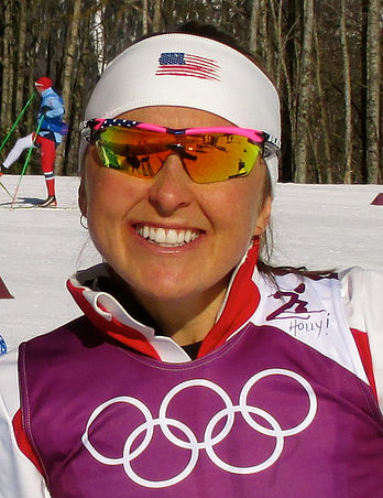 Holly Brooks at Sochi 2014 Olympic Winter Games
