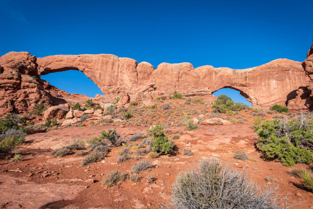 Arches National Park - The Windows