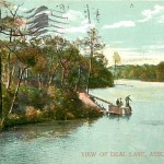 1908 View of Deal Lake Asbury