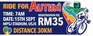 Ride for Autism 2019 @ Stadium MPSJ