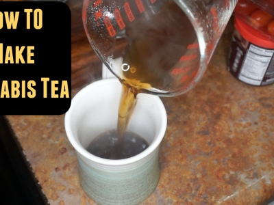 How To Make Cannabis Tea (Cannatea)