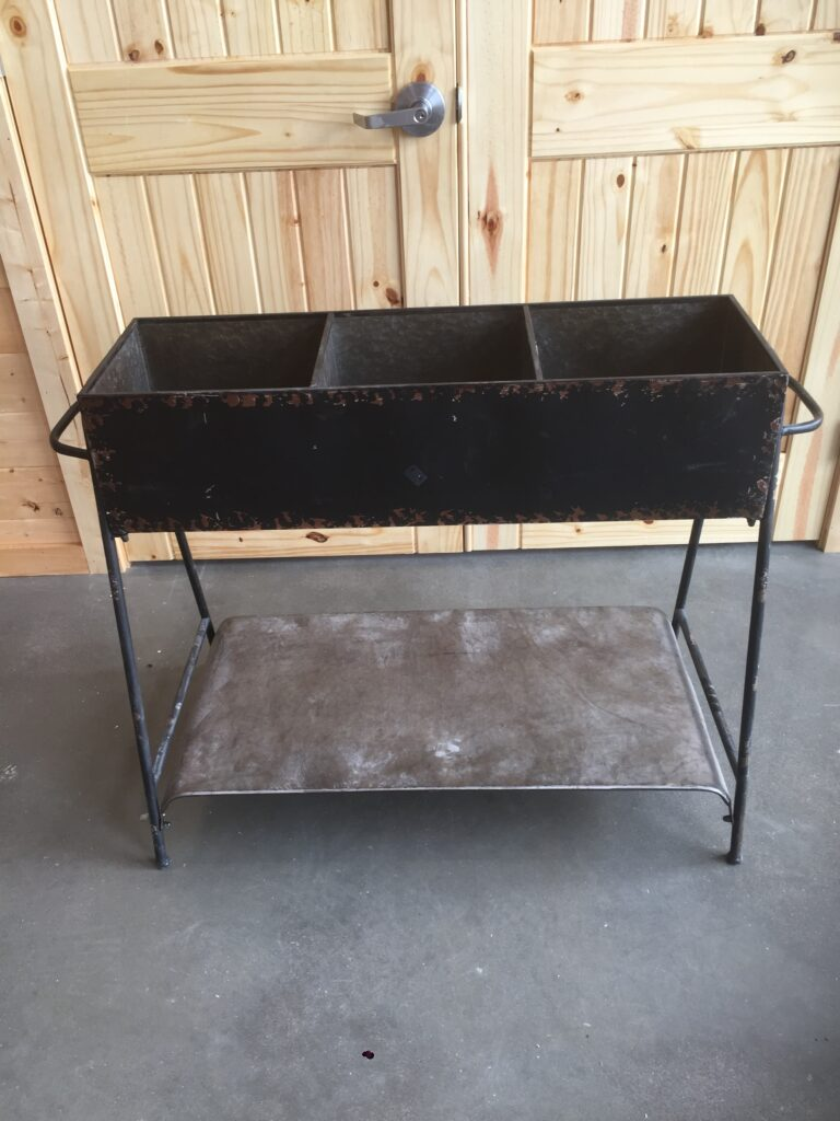 3 Bin Table: $25