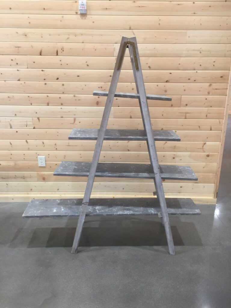 A-Frame Shelves: $45
