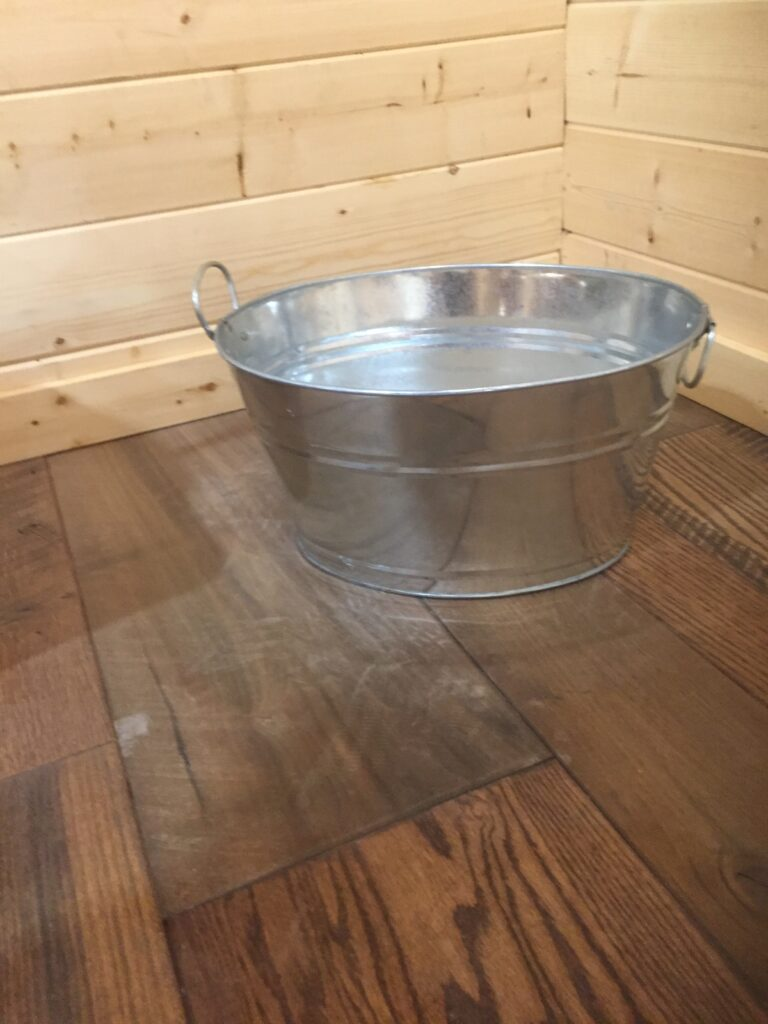 Small Wash Tub: $10