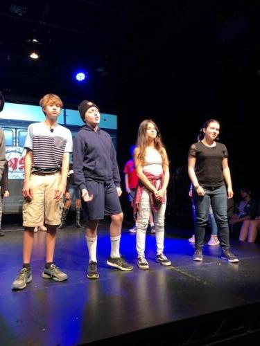 "ECDS students perform the musical ""13"""