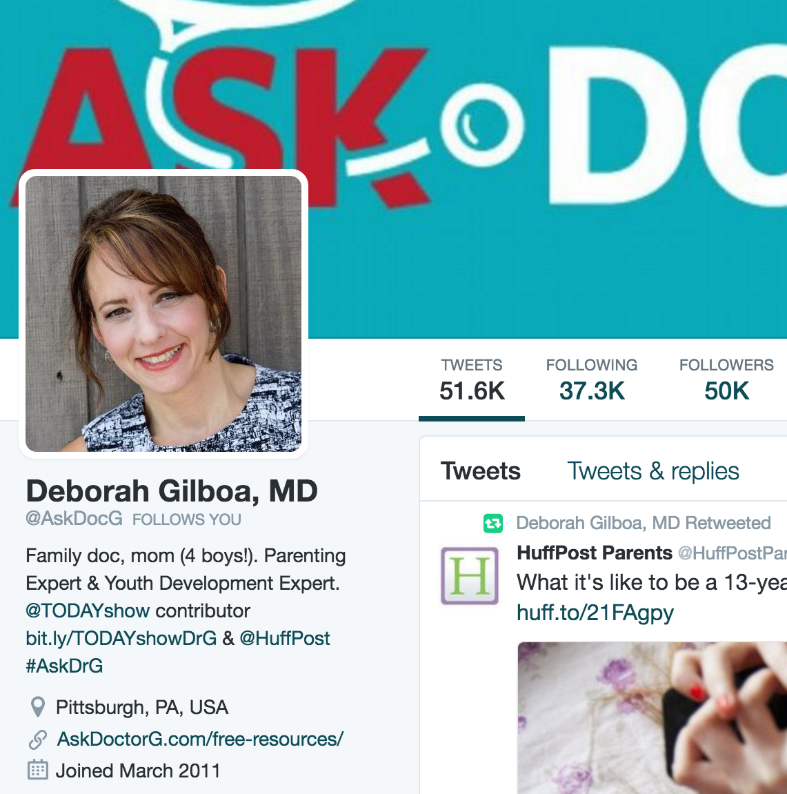 Dr. G hits 50,000 Followers!