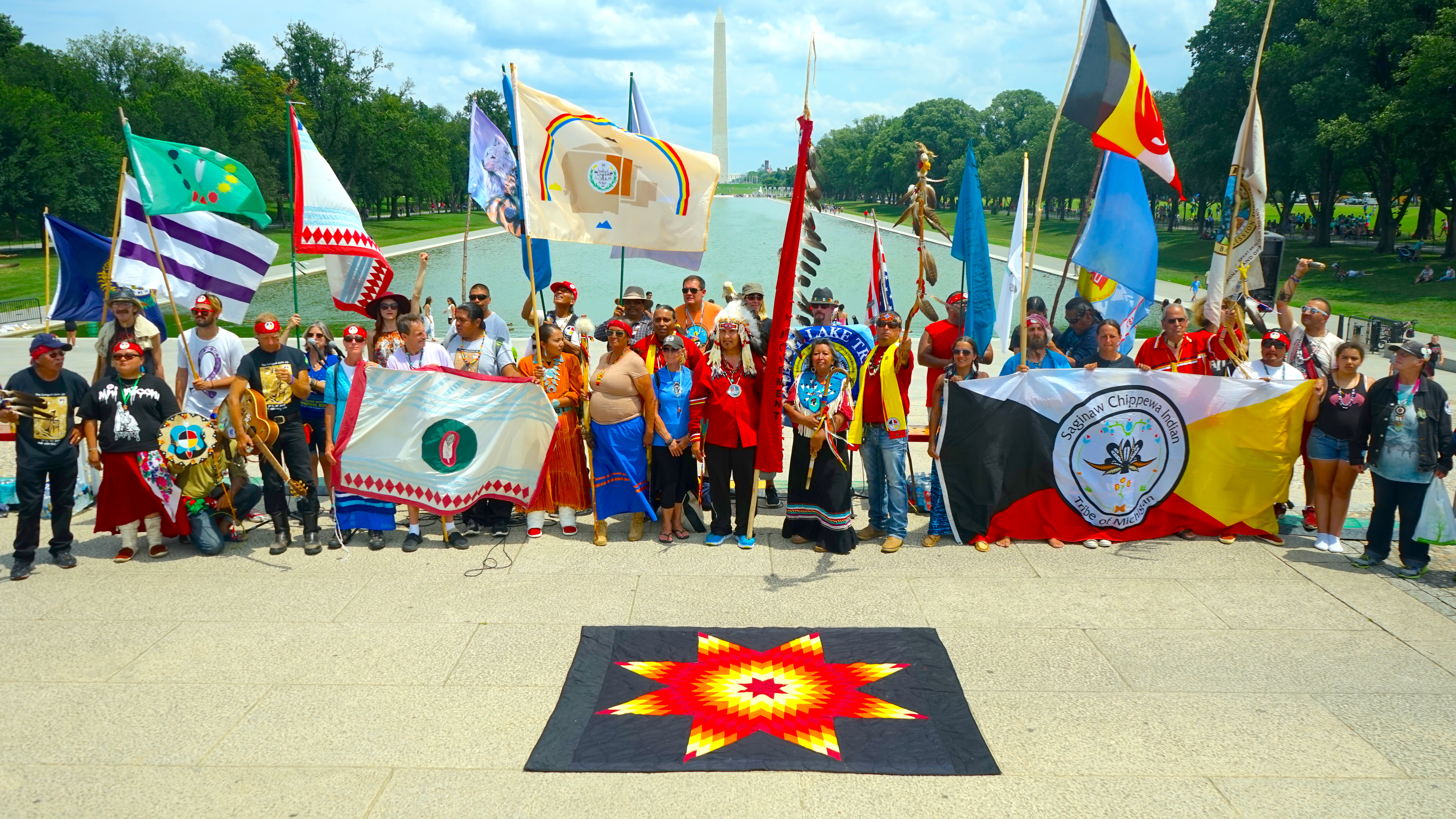 1 The Longest Walk Indigenous Movement Lincoln Memorial Washington DC
