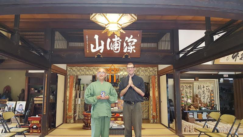How a Zen priest in Yokohama, Japan is sharing the teachings of meditation to help with suicide prevention and PTSD