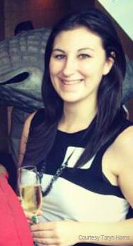 Student leader Taryn Harris.