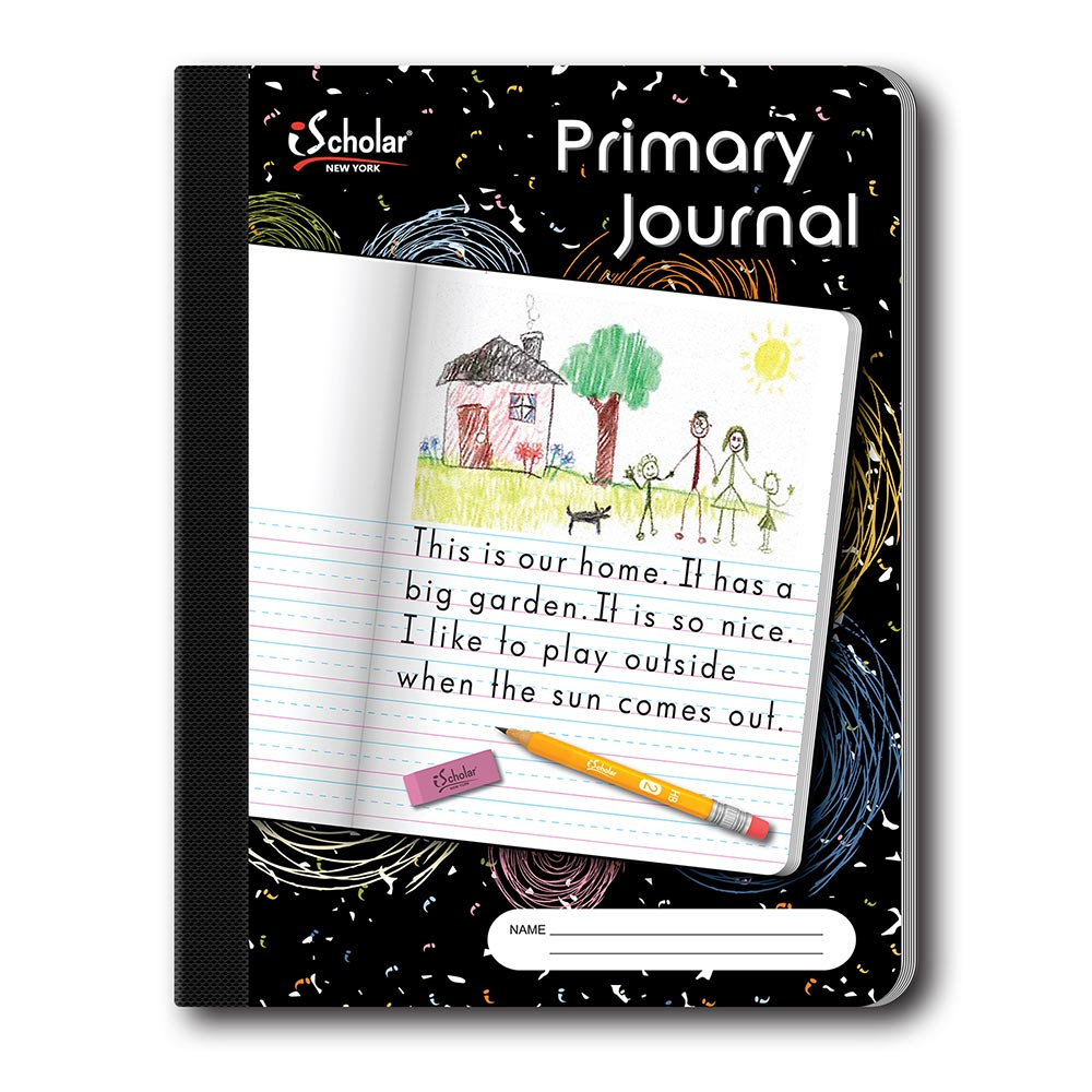 Primary Journal Composition Notebook Unruled/Cursive 10116