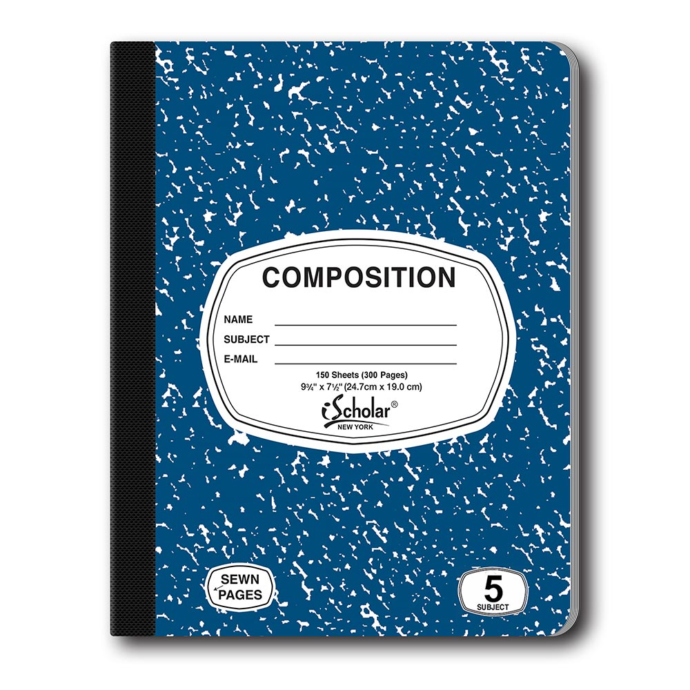 5 Subject Color Composition Notebook 18115