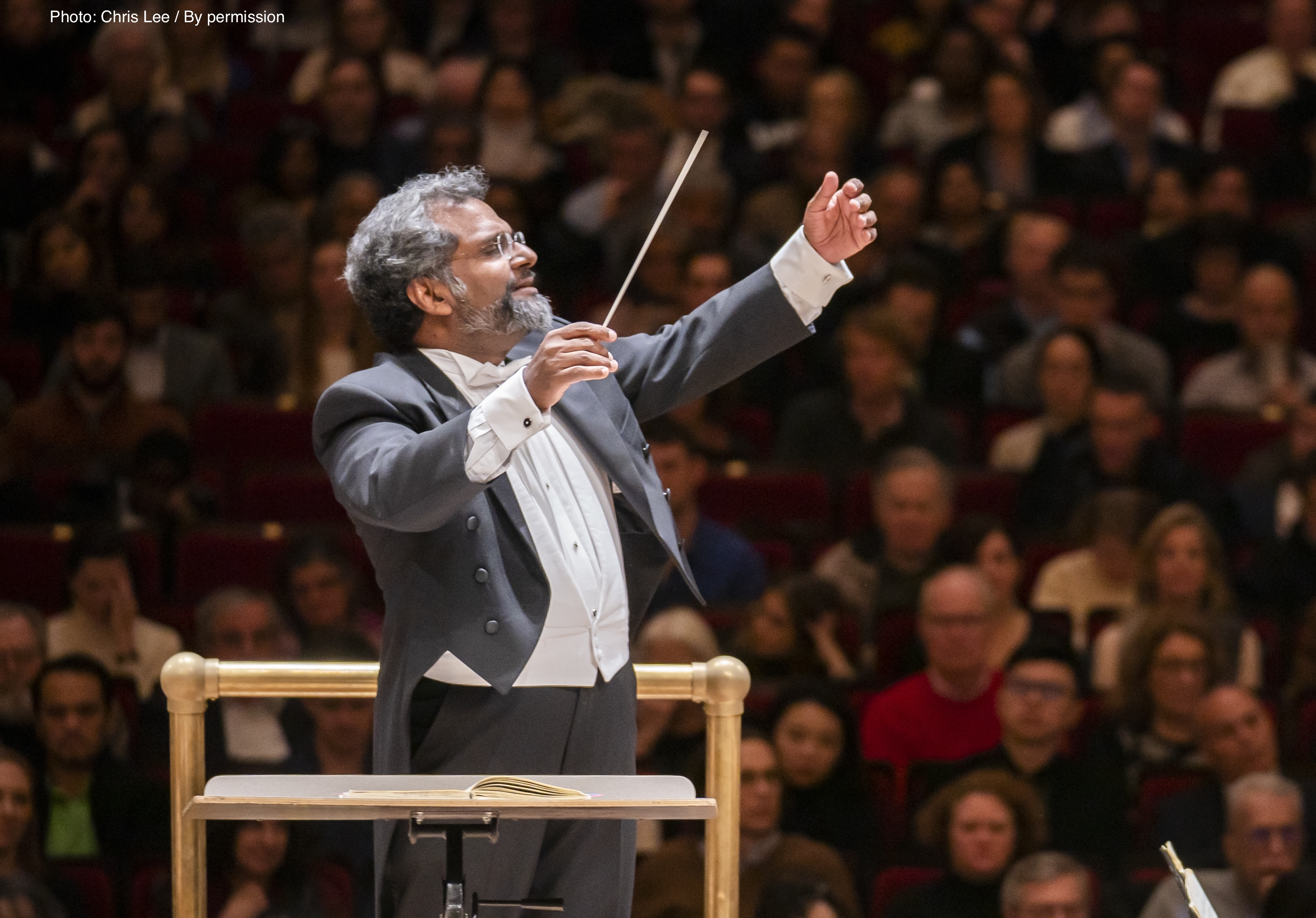 George Mathew conducts Beethoven for The Rohingya: A Concert For the Rohingya Refugees,  A Benefit for Doctors Without Borders / Médecins Sans Frontières at Carnegie Hall, 1/28/19. Photo by Chris Lee