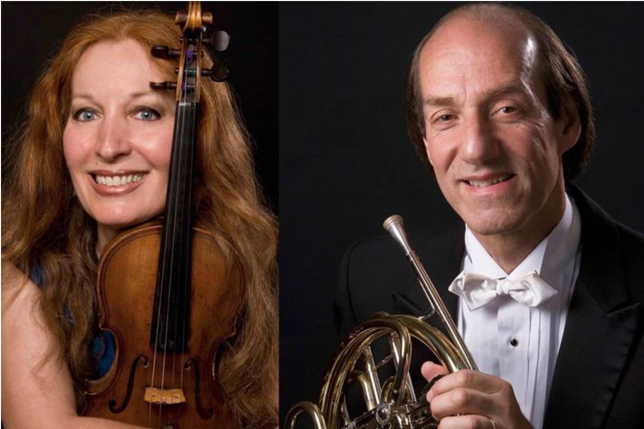 Grammy Nominated Violinist and NY Philharmonic Hornist to Perform in Short Hills - TAPinto