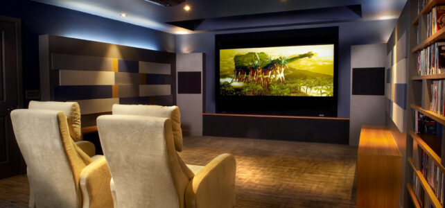 PAVS home theatre installation for Steamboat Springs houses