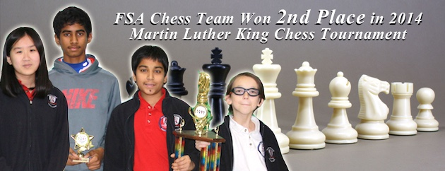 fulton science academy chess 2nd place