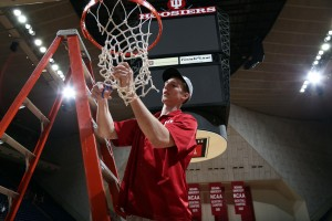 Indiana Hoosiers forward Cody Zeller will likely soon be selecting his NBA representation. Credit: Brian Spurlock-USA TODAY Sports