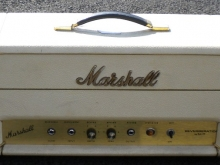 Rare Marshall reverb in white covering