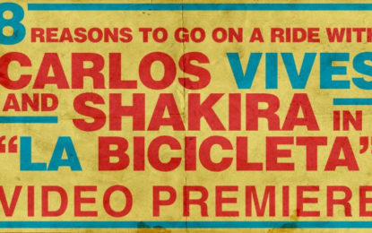 "8 Reasons to go on a Ride With Carlos Vives and Shakira in ""La Bicicleta"""