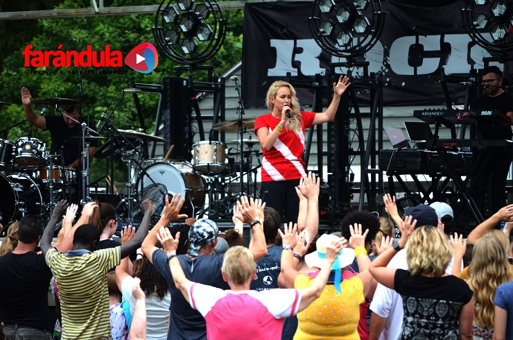 The Eighth Annual Rock the Island Music Festival Brought Christian Music to Ojibway Island