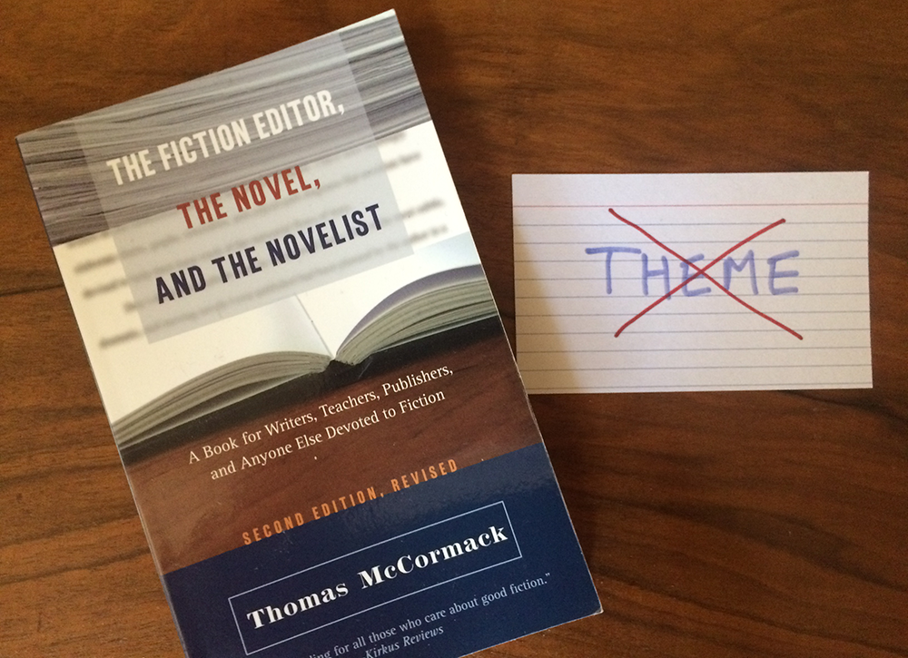 Thomas McCormack - The Fiction Editor, the Novel, and the Novelist