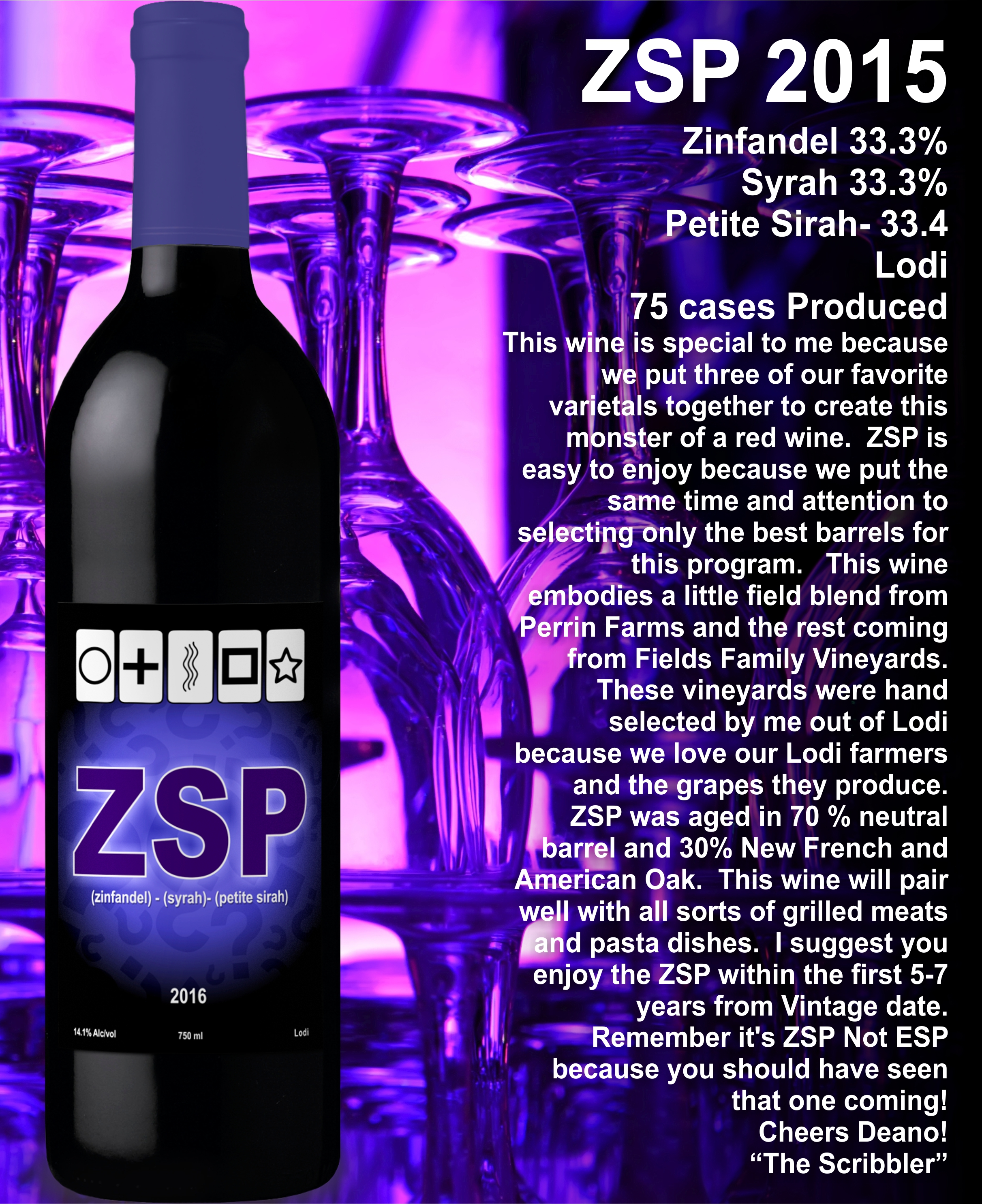 ZSP Glass Stack Promotion