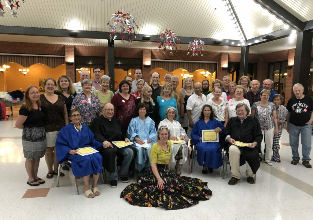 Square Dance Class June 2018